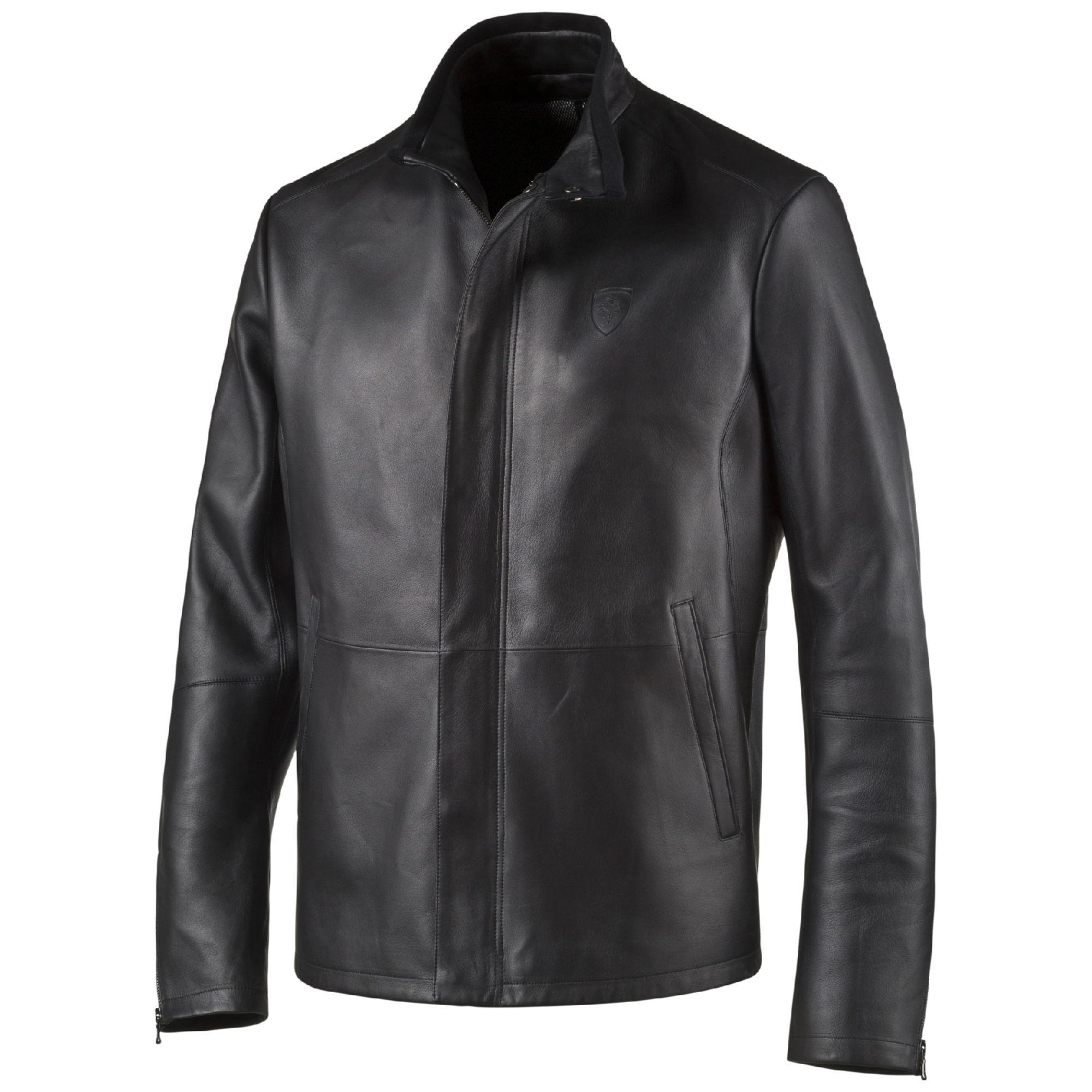 Ferrari Premium Men S Leather Jacket Motorsport Boutique